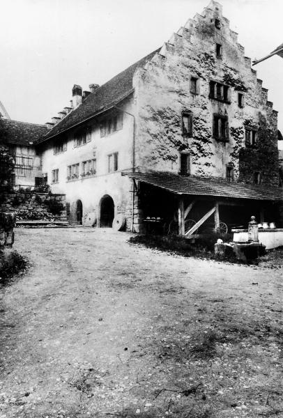 Die Mühle Otelfingen auf einem historischen Bild